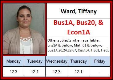 Ward, Tiffany