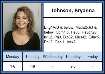 Johnson, Bryanna